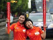 Огонь Азиатских игр в городе Чаочжоу