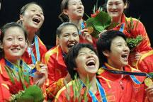China´s women´s volleyball bags gold to defend title