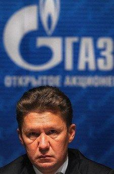 CEO of Russian gas giant Gazprom Alexei Miller attends the Gazprom annual meeting in Moscow on in 2009. A new gas standoff that could worry Europe loomed Friday between Russia and an ex-Soviet state after Russian gas giant Gazprom moved closer to cutting exports supplies to Belarus.(AFP/File/Alexander Nemenov)