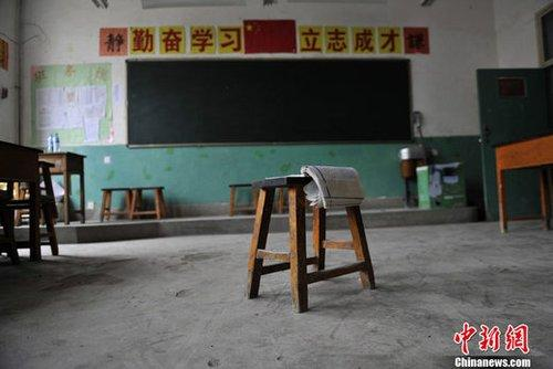 Students in landslide ravaged Zhouqu County in northwest China's Gansu province will be able to go back to school to start the new term next Wednesday August 25th.