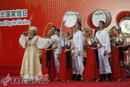 Ukraine is celebrating its National Pavilion Day at the Shanghai World Expo.
