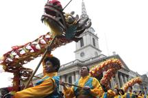 London hosts Europe´s largest CNY celebrations