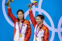 Chinese pair win women´s 3m synchro springboard