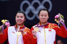 China wins women´s doubles in badminton
