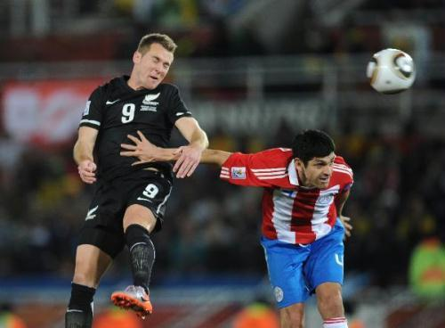 Meanwhile, Paraguay held on for a goalless tie with New Zealand. Paraguay qualifies for the knockout stage.