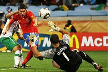 Spain beat Portugal 1-0<br><br>