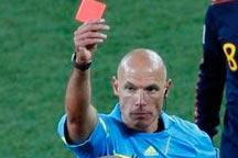 Referee Webb criticized after final