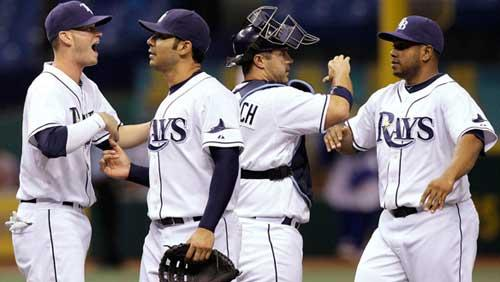 The Tampa Bay Rays and New York Yankees continue to go back and forth atop the American League East.