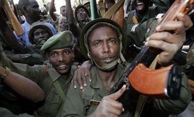 FilephotoSudaneseforcesshowingsupportforPresidentOmaral-BeshirinthecapitalKhartoum.(AFP/File/AshrafShazly)