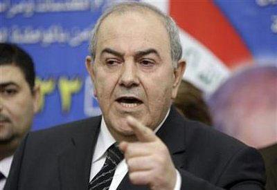 IyadAllawi,formerIraqiprimeministerandheadofthesecularIraqiyaalliance,speaksduringanewsconferenceinBaghdadinthisFebruary25,2010filephoto.REUTERS/SaadShalash