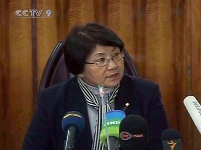 TheinterimgovernmentisledbyformerForeignMinisterRozaOtunbayeva.(CCTV.com)
