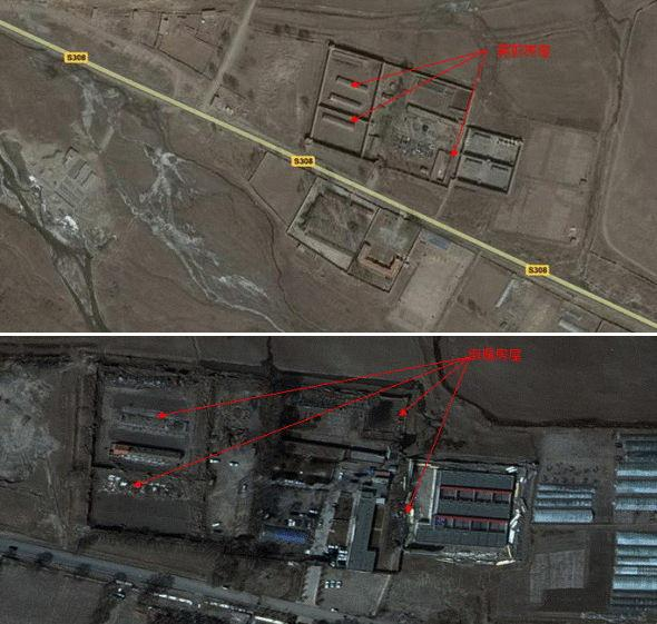 Let's look at satellite remote sensing image maps to see before and after the quake hit Yushu.