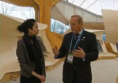 Our reporter Wang Mangmang spoke with Arild Blixrud, the commissioner general of the Norwegian Pavilion, for the Shanghai World Expo.(CCTV.com)