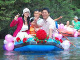 Необычные свадьбы на воде