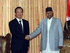 رئيس مجلس الدولة الصينى يبحث مع الرئيس النيبالى العلاقات والتعاون بين البلدين