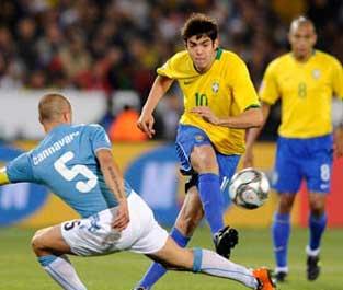 6月22日 比勒陀利亚 意大利0:3巴西<br>全场回放