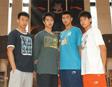 """2009李宁海外篮球特训正式启动 四名球员踏上美国""""留学""""之路"""