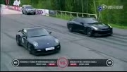 Porsche 911 Turbo vs Nissan GT