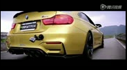 BMW M4 Brutal Revs and Tunnel Sound w