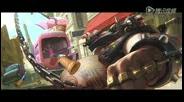 《守望先锋》反派新英雄 混乱二人组视频曝光
