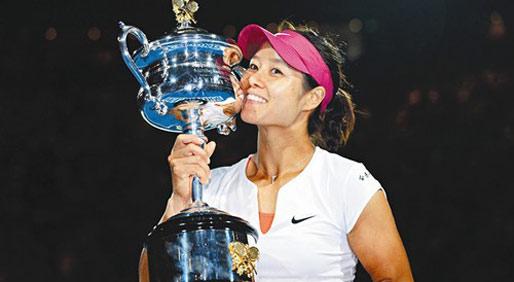"""娜姐雄起!盘点中国网球的""""娜""""些第一"""