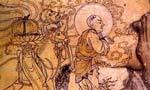 敦煌壁画现最早玄奘取经图