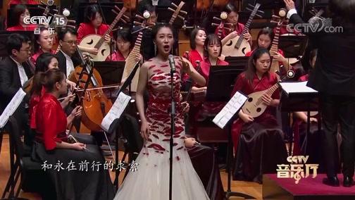 [CCTV音乐厅]《祖国情》 演唱:高瑞璇 指挥:彭家鹏 演奏:江苏省民族乐团 苏州民族管弦乐团