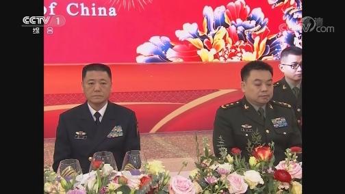 [视频]国防部举行2020年新春招待会