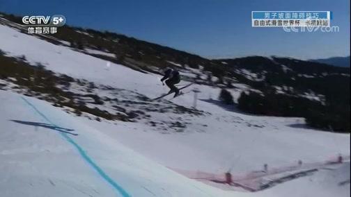 2019-20赛季自由式滑雪世界杯 法国丰霍默站 坡面障碍技巧 20200118