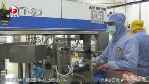 """[安徽新闻联播]六安:复工企业里的特殊""""员工"""""""