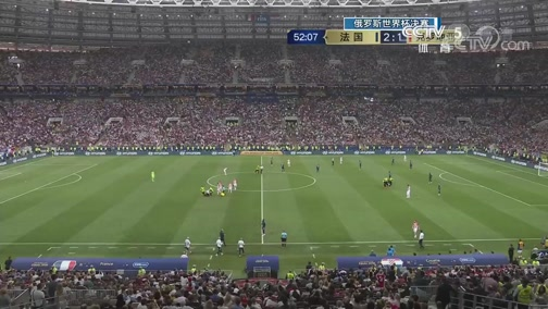 [国际足球]俄罗斯世界杯决赛:法国VS克罗地亚 完整赛事