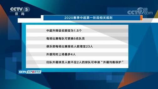 [中超]中国足协公布中超联赛赛程及比赛细则