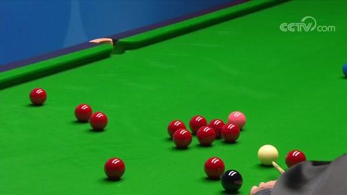[台球]斯诺克世锦赛第1轮:艾伦VS克拉克 5-9局