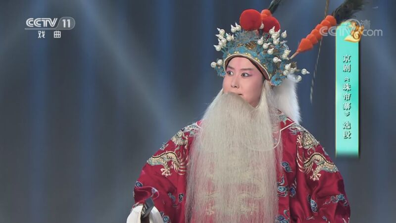 [梨园闯关我挂帅]京剧《珠帘寨》选段 演唱:张曦文