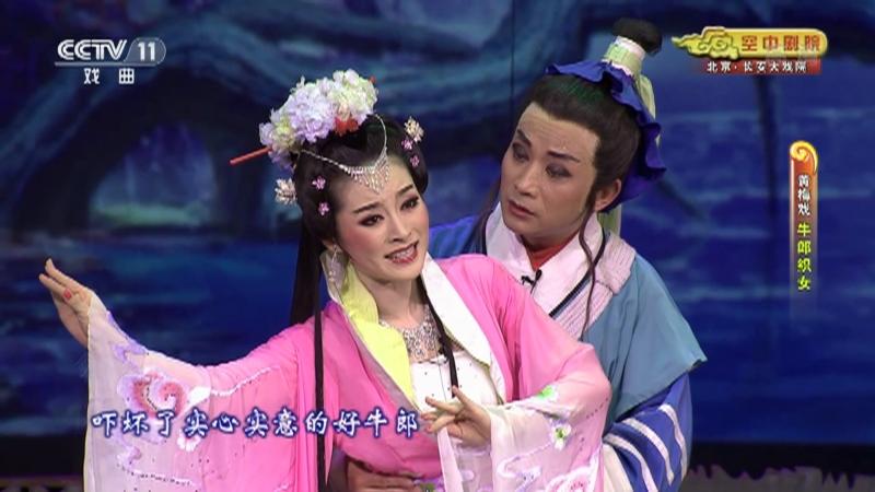 黄梅戏牛郎织女 主演:周珊 魏瑜遥 吴亚玲 CCTV空中剧院 20210308