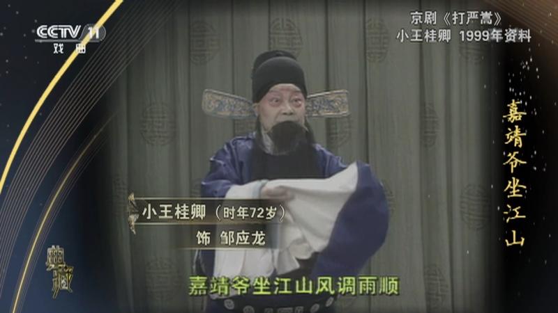 京剧打严嵩 演唱:小王桂卿 典藏