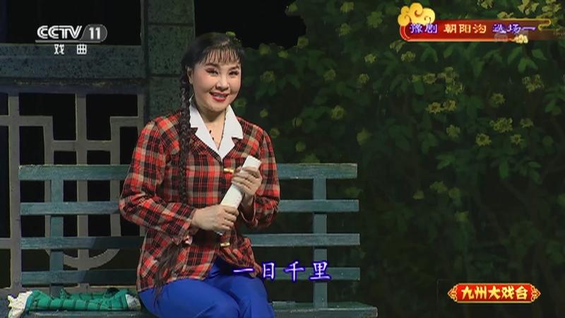 豫剧朝阳沟选场一 主演:杨红霞 盛红林 九州大戏台 20210527