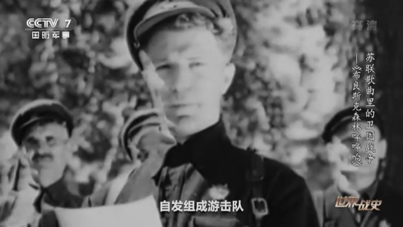 《世界战史》 20210630 苏联歌曲里的卫国战争 《布良斯克森林哗哗响》