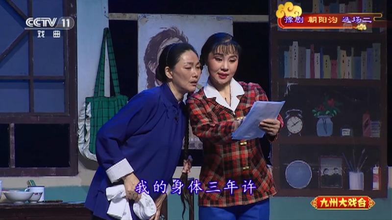 豫剧朝阳沟选场二 主演:杨红霞 盛红林 九州大戏台 20210706