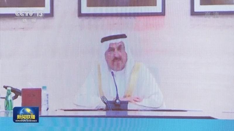 栗战书同阿联酋联邦国民议会议长举行会谈