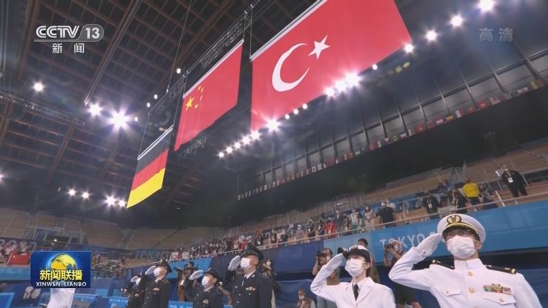 东京奥运会昨晚至今日 中国体育代表团再获4金4银2铜