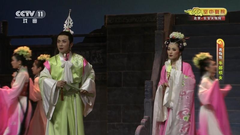 黄梅戏牛郎织女 主演:周珊 魏瑜遥 吴亚玲 CCTV空中剧院 20210829