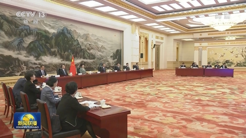 汪洋会见越南祖国阵线中央委员会主席