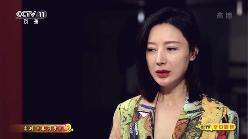 京剧春闺梦(访谈) CCTV空中剧院 20210918