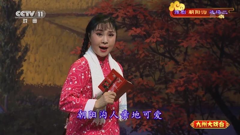 豫剧朝阳沟选场二 主演:杨红霞 盛红林 九州大戏台 20211004