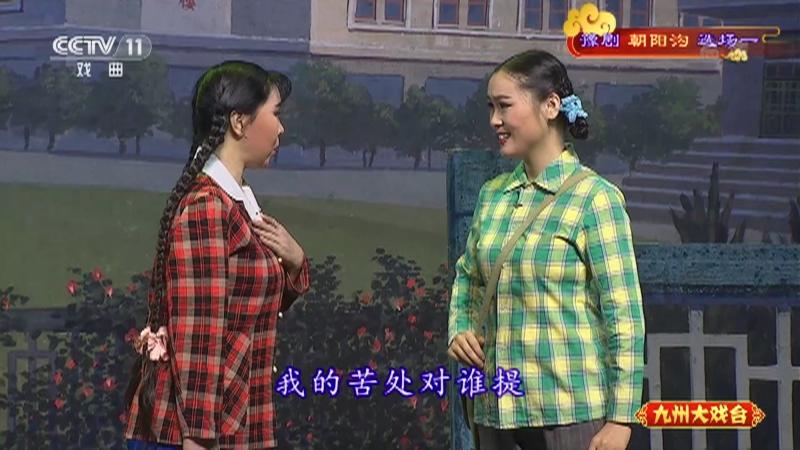 豫剧朝阳沟选场一 主演:杨红霞 盛红林 九州大戏台 20211011