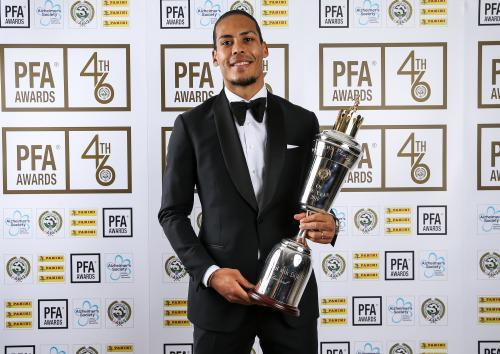 官方!利物浦天王当选PFA英超年度最佳球员