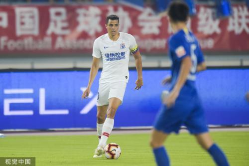 [高清组图]莫雷诺进球 申花客场1-0小胜苏宁