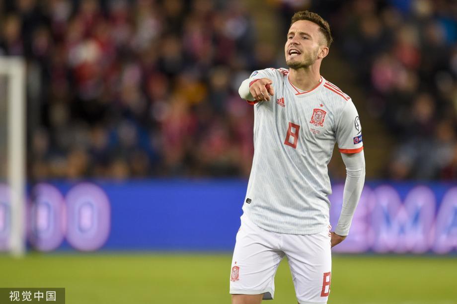 [图]萨乌尔进球科帕送点遭绝平 西班牙1-1挪威