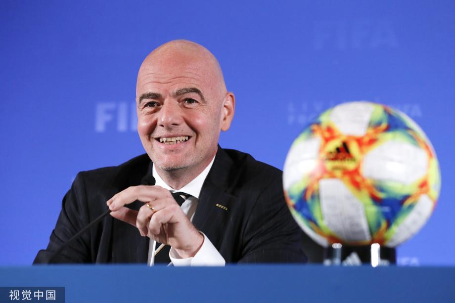 [图]国际足联官宣:中国成为2021年世俱杯举办国